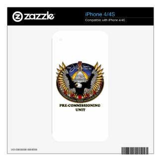 SSN 785 PCU John Warner Decal For The iPhone 4S
