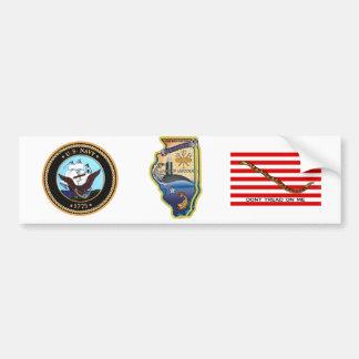 SSN 785 USS Illinois Bumper Sticker