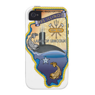 SSN 785 USS Illinois Case-Mate iPhone 4 Covers