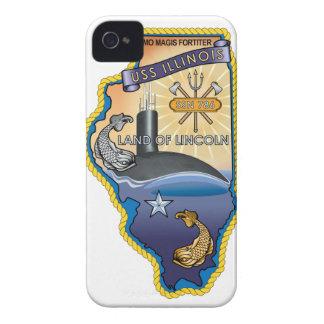 SSN 785 USS Illinois iPhone 4 Cases