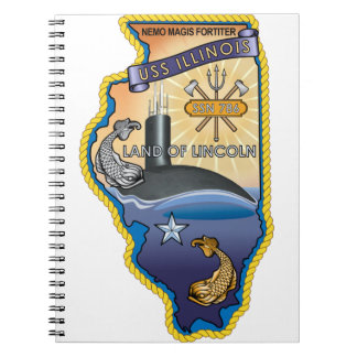SSN 785 USS Illinois Notebook