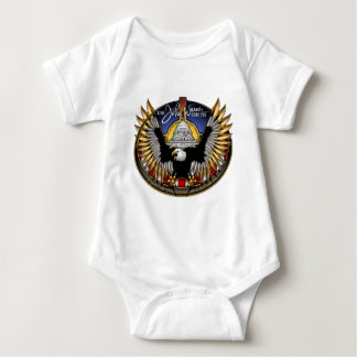SSN 785 USS John Warner Baby Bodysuit