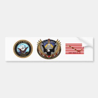 SSN 785 USS John Warner Bumper Sticker