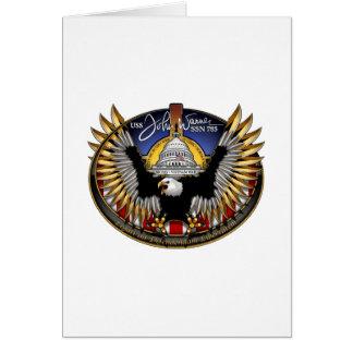 SSN 785 USS John Warner Card
