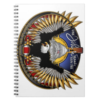 SSN 785 USS John Warner Notebook
