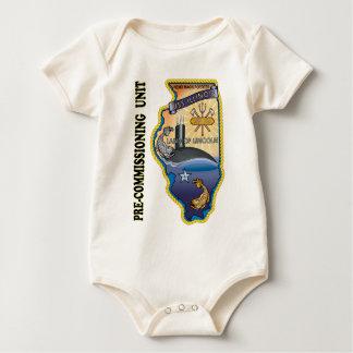 SSN 786 PCU llinois Baby Bodysuit