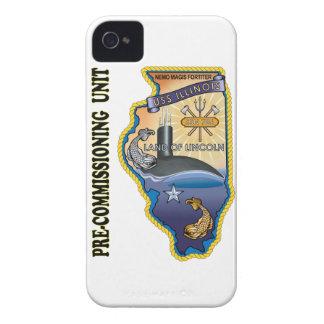 SSN 786 PCU llinois iPhone 4 Case-Mate Case