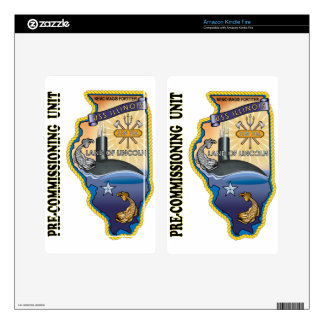 SSN 786 PCU llinois Kindle Fire Decals