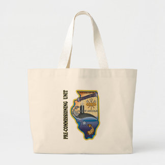 SSN 786 PCU llinois Large Tote Bag