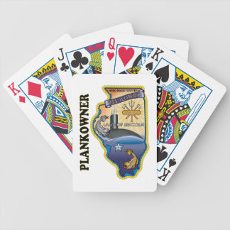SSN 786 USS Illionois Plank Owner Bicycle Playing Cards