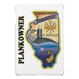 SSN 786 USS Illionois Plank Owner iPad Mini Covers