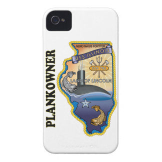 SSN 786 USS Illionois Plank Owner iPhone 4 Case-Mate Cases
