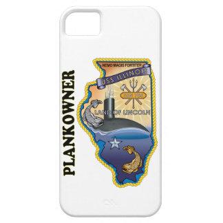 SSN 786 USS Illionois Plank Owner iPhone SE/5/5s Case