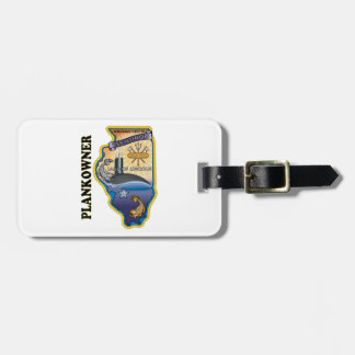 SSN 786 USS Illionois Plank Owner Luggage Tag