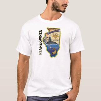 SSN 786 USS Illionois Plank Owner T-Shirt