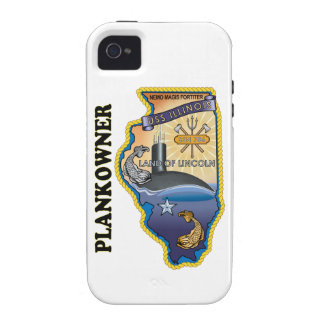 SSN 786 USS Illionois Plank Owner Vibe iPhone 4 Cover