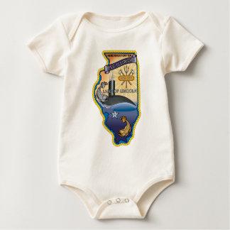 SSN 786 USS llinois Baby Bodysuit