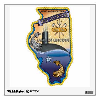 SSN 786 USS llinois Wall Sticker