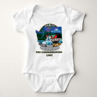 SSN 787 PCU Washington Baby Bodysuit