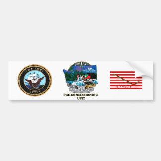 SSN 787 PCU Washington Bumper Sticker