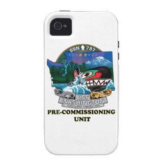 SSN 787 PCU Washington iPhone 4/4S Covers