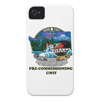 SSN 787 PCU Washington iPhone 4 Cover