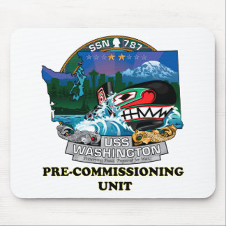 SSN 787 PCU Washington Mouse Pad