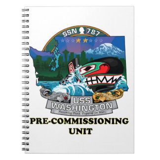 SSN 787 PCU Washington Notebook