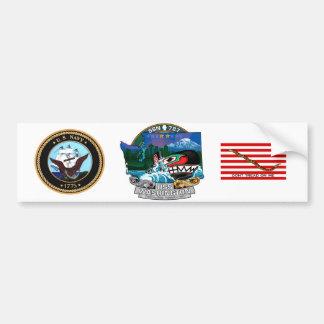 SSN 787 USS Washington Bumper Sticker