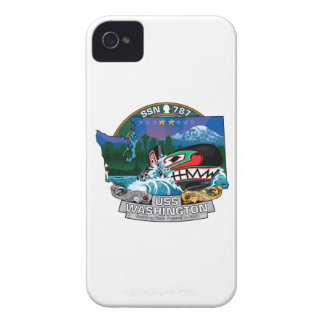 SSN 787 USS Washington iPhone 4 Case-Mate Case