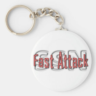 SSN Fast Attack Key Chains