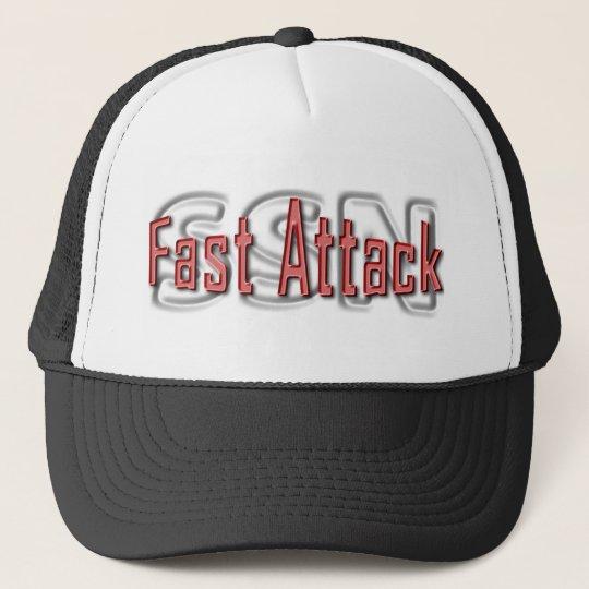 SSN Fast Attack Trucker Hat