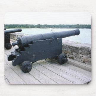 Sspanish Cannon at Ft. Matanzas Mouse Pad
