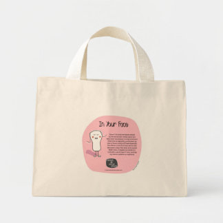 SSPG28-In Your Face(book) Sweet and Sour Puss Mini Tote Bag