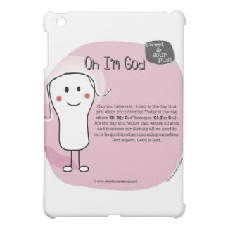 SSPG34-Oh I'm God Sweet and Sour Puss iPad Mini Cases