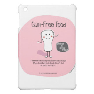 SSPG64-Guilt-Free Food Sweet and Sour Puss Cover For The iPad Mini