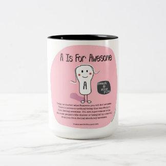 """SSPG81- """"A"""" está para el Puss agridulce impresiona Tazas De Café"""