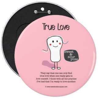 SSPG91-True Love Sweet and Sour Puss Button