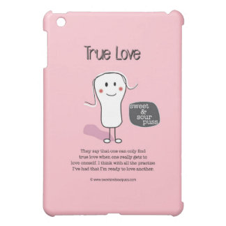 SSPG91-True Love Sweet and Sour Puss iPad Mini Cover