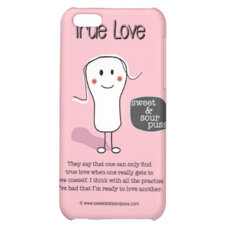 SSPG91-True Love Sweet and Sour Puss iPhone 5C Covers