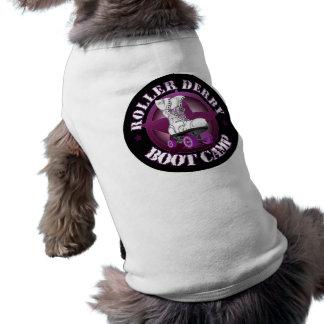 SSRD's RollerDerbyBootCamp dog shirt