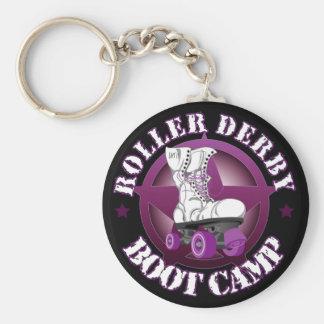 SSRD's RollerDerbyBootCamp key chain