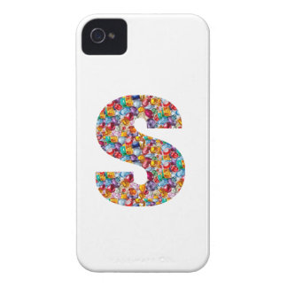 SSS Beautiful ALPHA S mala of Pearls Gems Jewels iPhone 4 Case-Mate Cases