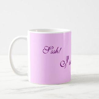Sssh!, I'm reading Coffee Mug