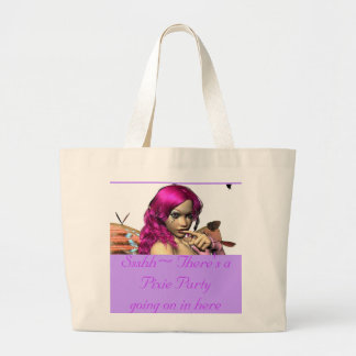 Ssshh~ Butterfly products Large Tote Bag