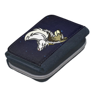 SSU Logo Spacescape Coin-Friendly Denim Wallet