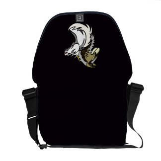SSU Project Logo Messenger Bag