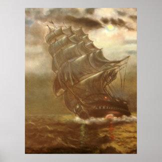 SSVictory Mark 4:35 Ship Poster