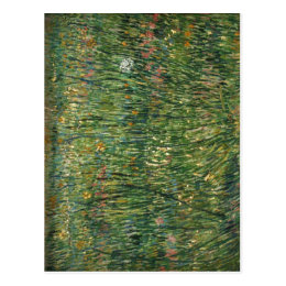 ?sszefoglal? Description Van Gogh: Grasgrond (Patc Postcard