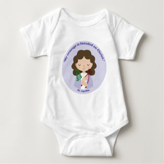 St. Agatha Baby Bodysuit